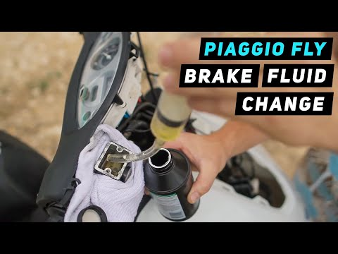 Piaggio Fly - Brake Fluid Change