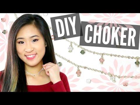 DIY BEADED CHOKER NECKLACE | Angelynn
