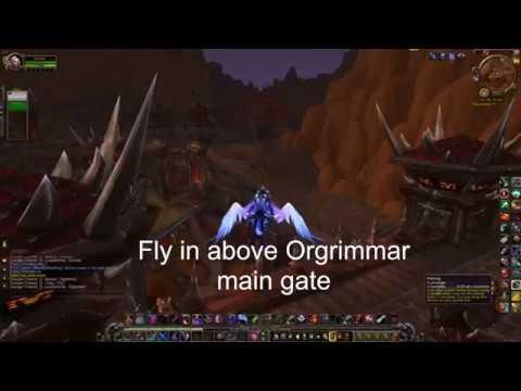Orgrimmar: Hiding in Plain Sight, Rogue Legion Mount quest
