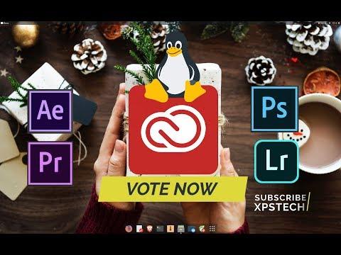 Run Adobe Creative Cloud on Linux! Please VOTE!