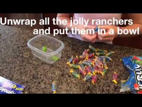 DIY: Jolly Rancher Lollipops:)