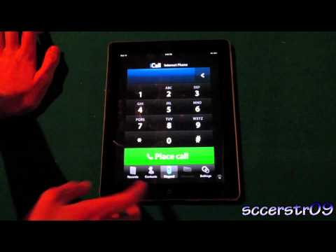 Make Free Phone Calls From Your iPad/iPod Touch