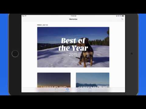 Tutorial on the new Memories feature in the iOS 10 Photos App!