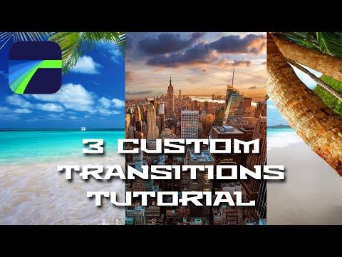 3 Must Have Custom Transitions Tutorial - LumaFusion