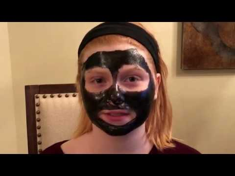 Dr. Gilmore's Abby Tries a Blackhead Mask