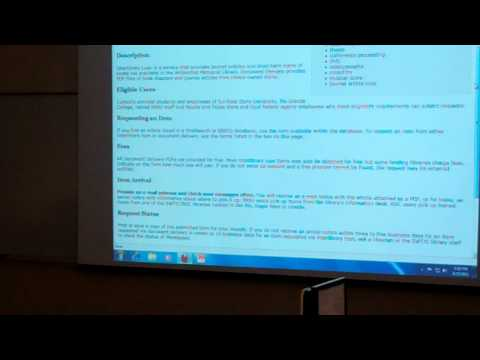 Library Resources for Graduate Students: Part 4