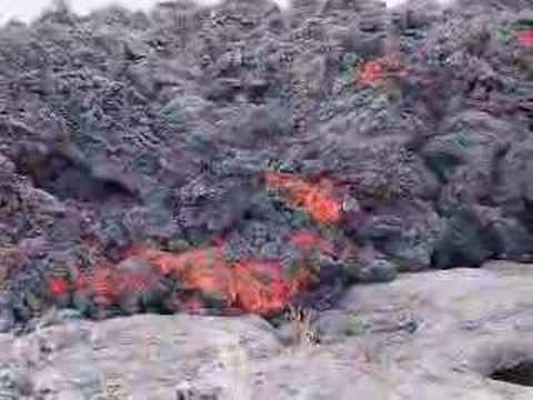 Kilauea a'a Lava Flow