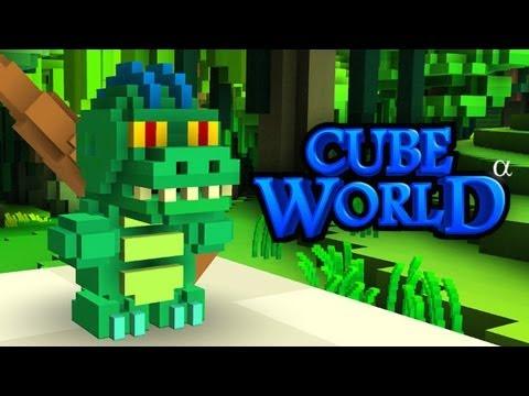 DINOSAUR VS SQUIRREL (Cube World)
