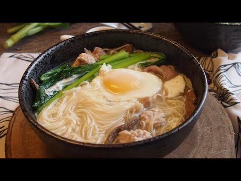 How to cook Grandma's Mee Sua Soup 阿嫲面线