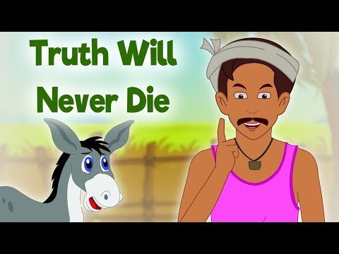 Truth Will Never Die - Panchatantra In English - Cartoon / Animated Stories For Kids