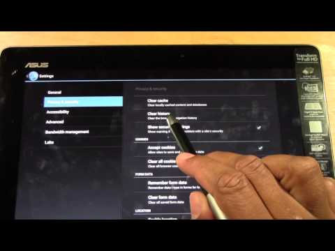 Transformer Infinity   How to Clear Your Web History​​​ | H2TechVideos​​​