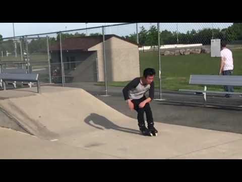 INSANE 360 ON ROLLERBLADES