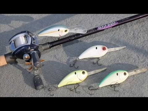 Crankbait Bass Fishing Tips - How to Fish Extra Deep Diving Crankbaits