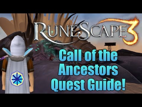Runescape 3: Call of the Ancestors Quest Guide!
