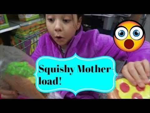 Squishy Motherload!! ~vlog ~ Jan 13. 2018
