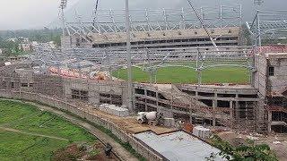 নানা অব্যবস্থাপনার স্টেডিয়াম দেরাদুন! | Rajiv Gandhi International Cricket Stadium | Somoy TV