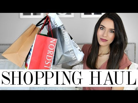 TRY ON SHOPPING HAUL | Nordstrom, Express, Free People, J Crew, etc!