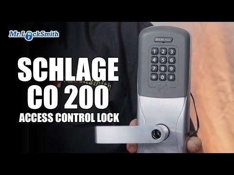 Schlage CO 200 Access Control Lock | Mr. Locksmith Video