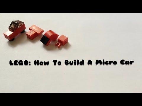 LEGO:MINI BUILDS: Micro Car  4 Designs! 