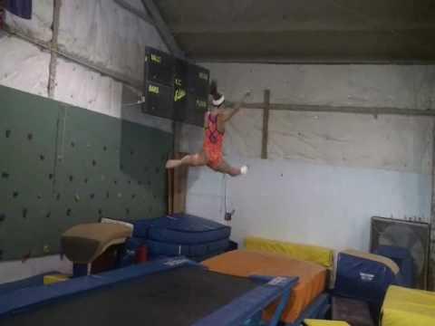 build leg strength for gymnastics