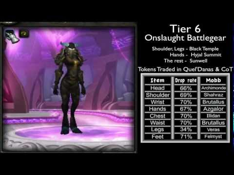 Warrior Gear, Tier Sets From 1 to 10 & Location Guide (World of Warcraft)
