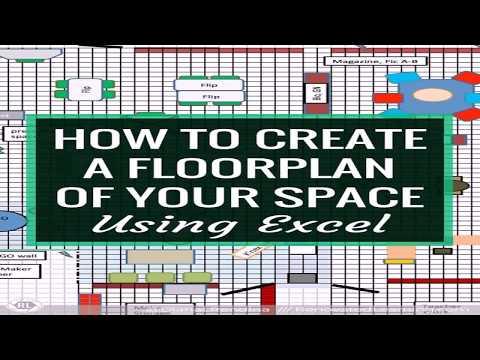 Office Floor Plan Excel Template