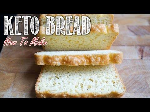 How To Make Keto Bread Recipe Video | Delicious Keto Bread for Sandwiches | Step by Step
