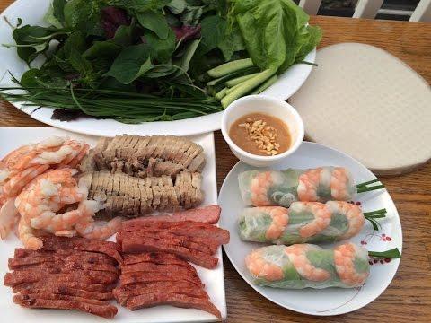 Vietnamese spring roll | Gỏi cuốn