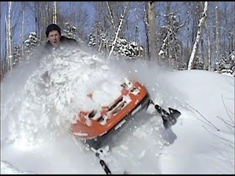 Old sled footage from 2009, tundras, Yamaha VK450's deep pow nonsense!