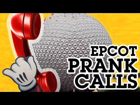 Disney's Epcot Prank Phone Calls