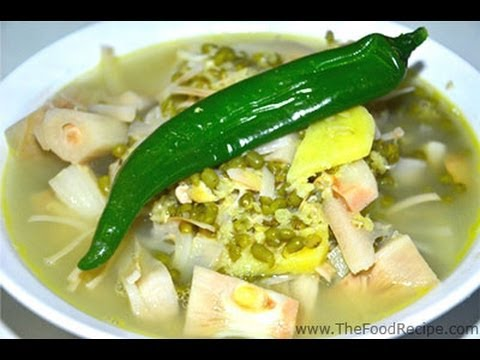 Mung Bean Soup with Unripe Jackfruit (Monggo with Langka)