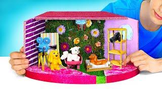 DIY Dolls House Miniature. Take a Photo in this Tiny Photo Studio!