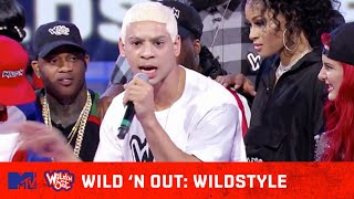 DC Young Fly Shuts Eminem DOWN 🔥 w/ Swizz Beatz | Wild 'N Out | #Wildstyle