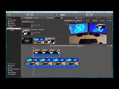 iMovie Tutorial 2015 - Easy Animation with iMovie | How To Do Keyframing in iMovie