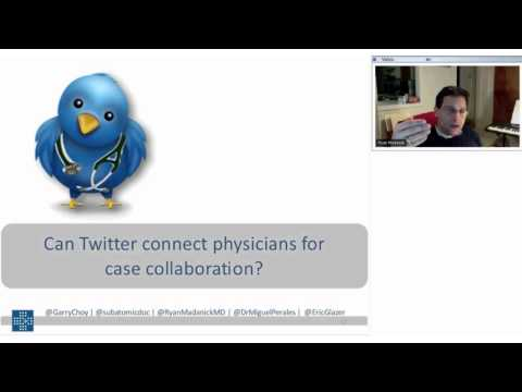 Connecting Physicians with Twitter for Multidisciplinary Collaboration