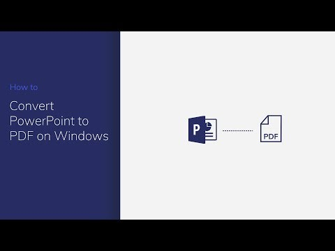 Convert PowerPoint to PDF on Windows with PDFelement