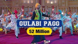 Diljit Dosanjh | Gulabi Pagg (Official Video) | Neha Sharma | Jatinder Shah | Ranbir Singh