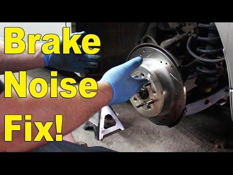 IS300 rear brake noise fix! Rear rotors grinding