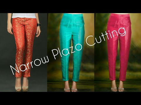Narrow Plazo Pant Cutting Part 1