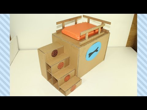 How To Make Amazing Cardboard Pets Puppy Dogs House From handmade