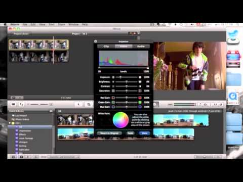 how to make a 3d video in imovie 09 or imovie 11