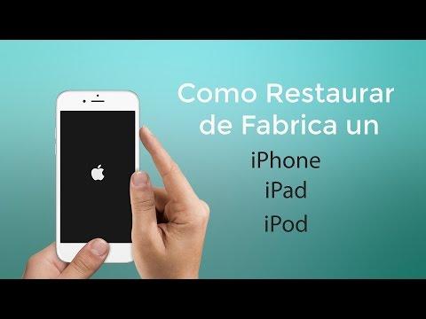 Como Resetear o Formatear tu iPhone, iPad o iPod / Hard Reset