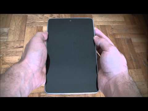 How To Soft Reset / Reboot / Fix A Frozen Nexus 7 Tablet