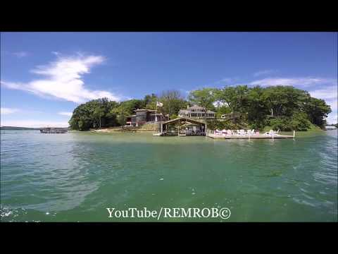 Boating Walloon Lake South Arm, Summer 2017