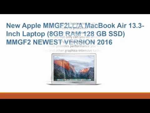 Newest Apple MMGF2LL A MacBook Air 13 3 Inch Laptop 2016 Model Review