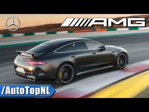 2019 Mercedes AMG GT 63 S 4 Door Coupe 640HP Exhaust SOUND LOOKS & DRIVE