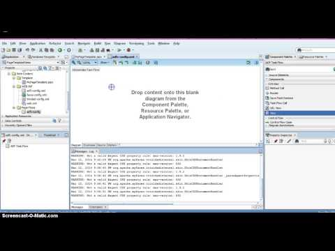 Create Page Template in Oracle ADF