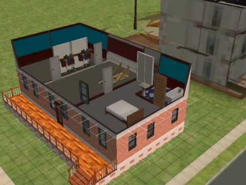 How to make a nice house on the sims 2
