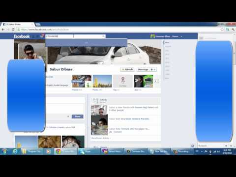 How to find  friends with out email and name on facebook