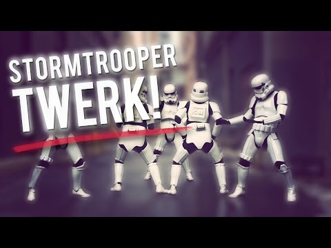 STORMTROOPER TWERK! The Original Dancing Stormtroopers! in 4K ULTRA HD // ScottDW